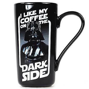Darth Vader koffie op de donkere kant mok