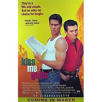 Kiss Me Guido (video) alkuperäinen video/DVD-mainos juliste