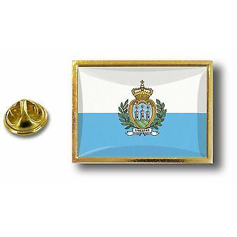 باين بينس شارة دبوس أبوس؛ s المعادن بينس بابيلون العلم سان مارينو سان مارينو