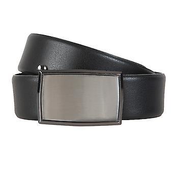 Ceintures de ceinture ceintures hommes LLOYD hommes cuir ceinture noire Automatikschleße 6600
