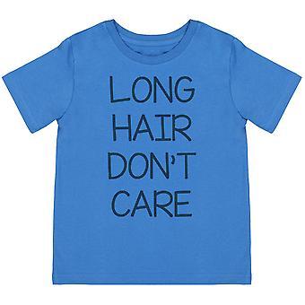 Langt hår Don ' t Care-barn t-skjorte