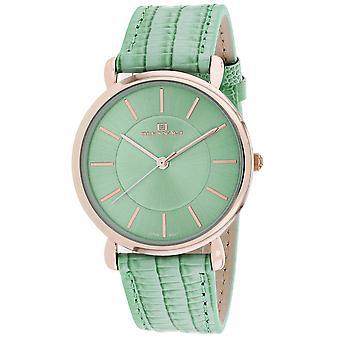 Oceanaut Women's Alma Green Dial Watch - OC2214