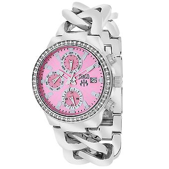 Jivago Women's Levley Pink Dial Watch - JV1248