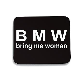 Tappetino mouse pad nero tsr1048 bring me woman