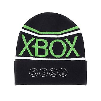 Xbox Beanie Hat Classic Logo Roll Up new Official Black Unisex