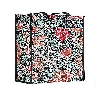 William morris - the cray reusable shopper bag by signare tapestry / shop-cray