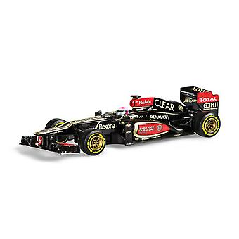 Lotus E21 (Heikki Kovalainen - Brazilian GP 2013) Diecast Model Car