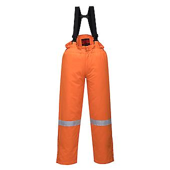 Portwest - Araflame Hi-Vis Workwear Insulated Winter Salopettes