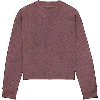 greenT Womens Organic Cotton Realizes Cropped Sweatshirt
