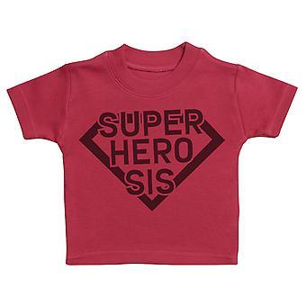 Superhero Siblings - Matching Kids Set - Baby / Kids T-Shirts - Gift Set