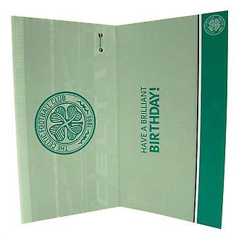 Celtic FC Birthday Card Huddle