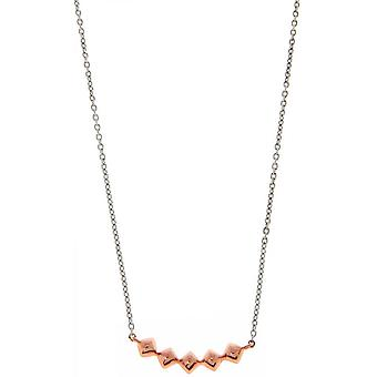 Necklace Ti Sento 3806SR - 42 - necklace Silver Gold fashion woman