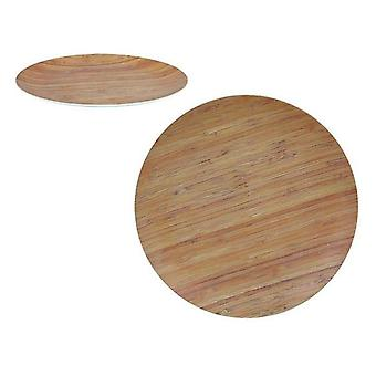 Platte Privilege Bamboo Brown/24,5 cm