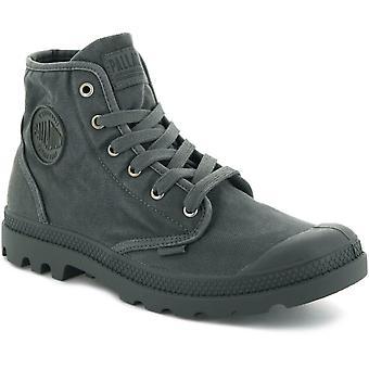 Palladium Pampa Hi Top Boots Metal Black 49