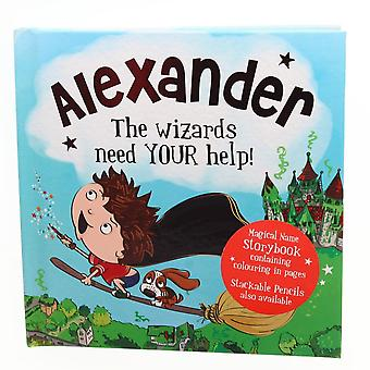 History & Heraldry Magical Name Storybook - Alexander
