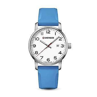 Wenger Quartz analogue watch Unisex Silicone wrist watch 01.1641.109