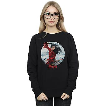 Disney Women's Mulan Movie Sword Poster Sweatshirt
