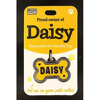 Wags & Whiskers Pet Identity Tag - Daisy