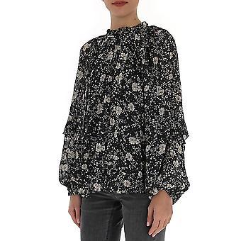 Isabel Marant ÉToile Ht170320p040ebkec Women's Black Silk Blouse