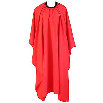 TRIXES rot Friseur Kleid Salon Friseure Hair Cutting Cape