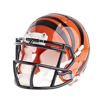 Riddell mini football helmet - NFL Cincinnati Bengals speed