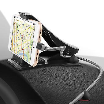 M.way dashboard clip car phone holder car mount for 4.0-6.5 inch smart phone holder for iphone 11 xiaomi