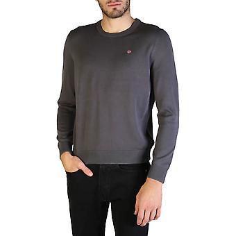 Napapijri Original Men Fall/Winter Sweater - Grey Color 35888