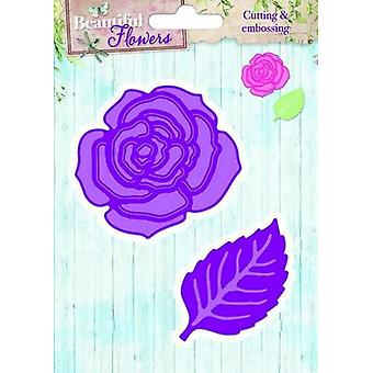 Studio Light Embossing Die Cut Stencil Beautiful Flowers nr 05 STENCILBF05