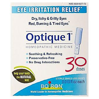 Boiron optique 1 eye drops, single-use doses, 30 ea
