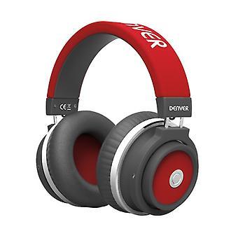 Wireless Headphones Denver Electronics BTH-250/Red