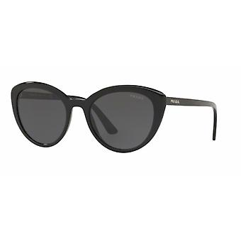 Prada SPR02V 1AB5S0 Black/Grey Sunglasses