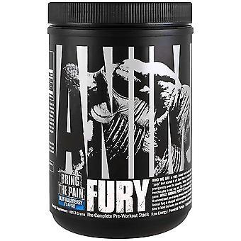 Suplemento Dietético Universal Nutrition Animal Fury - Framboesa Azul- 30 Porções