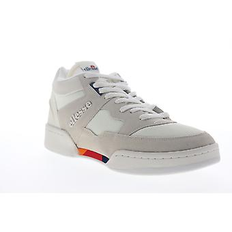 Ellesse Piazza Suede AM Mens Beige Lace Up Low Top Sneakers Shoes