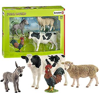 schleich farm world starter playset for ages 3 and above