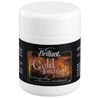 Brilliant gold dip bath 200ml cleaning and care of diamonds and gold jewelry