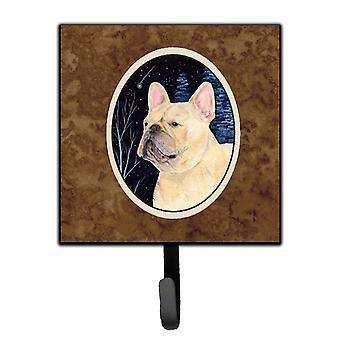 Carolines Treasures  SS8441SH4 Starry Night French Bulldog Leash Holder or Key H