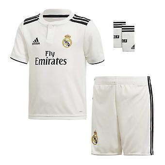 Children's Football Equipment Set Adidas Real Madrid White 18/19 (1ª) (3 Pcs)/14-16 Jaar