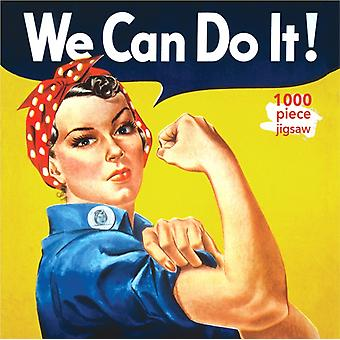 Adult Jigsaw Puzzle J Howard Miller Rosie the Riveter Poster  1000piece Jigsaw Puzzles by Created by Flame Tree Studio