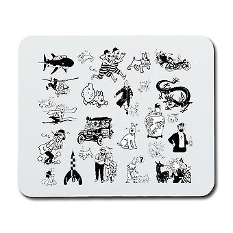 Tintin Mouse Pad