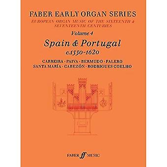 Early Organ Series 4: Spain 1550-1620 (Faber Early Organ Series)