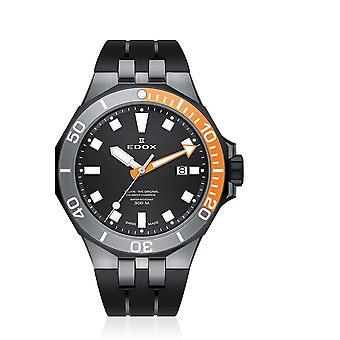Edox - Relógio de Pulso - Homens - Golfinho - Data do Mergulhador - 53015 357GNOCA NIN