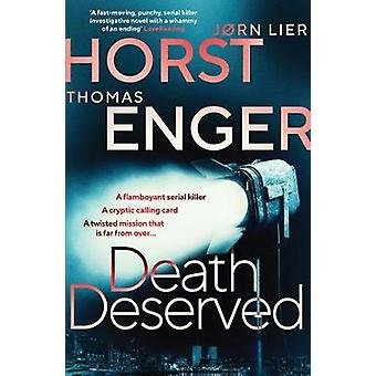 Death Deserved by Thomas Enger - 9781913193003 Book