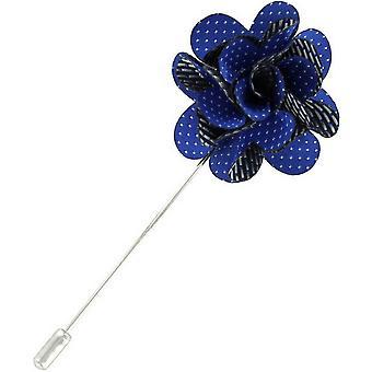 Michelsons Lontoo Pin dot kukka rintaneulan - Royal Blue
