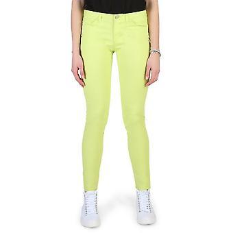 Armani Jeans - Clothing - Pants - 3Y5J28_5NZXZ_1643 - Ladies - greenyellow - 29