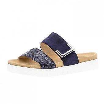 Gabor Euphoria komfortable Mode Sandalen In Blau
