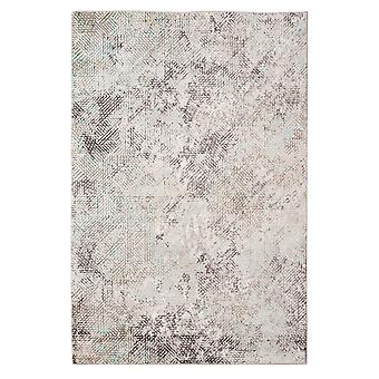 """3.93"""" X5.57"""" X 0.38"""" Gray  Polyester Area Rug"""