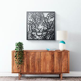 Metal Wall Art - Tiger #2