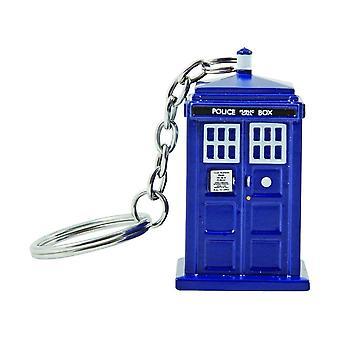 Doctor Who TARDIS Torch Keyring