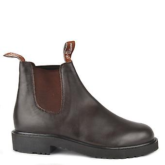 R.M. Williams Stockyard Brown Leather Boots