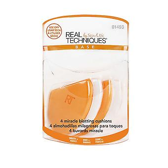 Real Techniques Miracle Blotting Puder Pack af 4